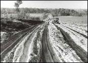 In de jaren zestig was dit nog zand met prachtige sporenbundels - Foto: Jac. Gazenbeek