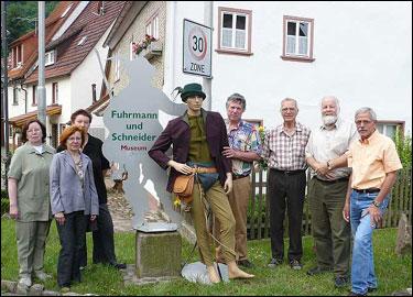 De hessenvoerman in Frammersbach - Foto: ©JGS - Annette Helfmann