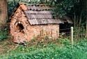 in de primitieve oven