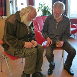 Marius van Dokkum in gesprek met Louis Fraanje