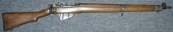 Een Lee-Enfield geweer
