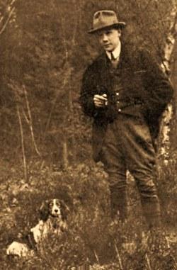 De nog jonge schrijver A.B.Wigman (foto: archief JGS)