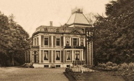 Huis Groot Spriel bij Putten ten tijde dat de landheer Johan Willem van Doorninck er woonde Foto: ©Archief Familie Jansen