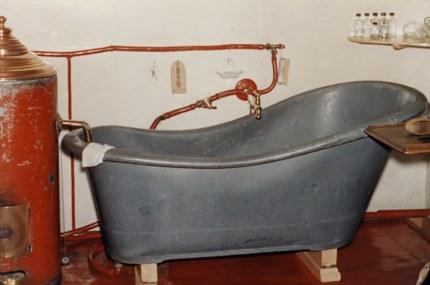 Badkuip in huize Groot Spriel (Foto: Archief Familie Jansen)