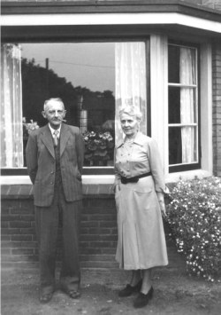 Arend Boer en zijn vrouw