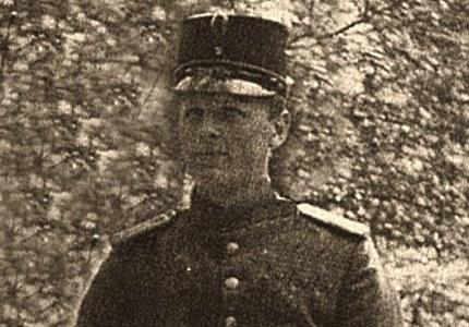 Jac. Gazenbeek als soldaat in 1914 (Foto: Archief JGS)