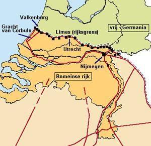 Noordgrens Romeinse rijk