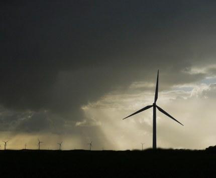 Donkere wolken boven de Veluwe – Foto: ©Louis Fraanje