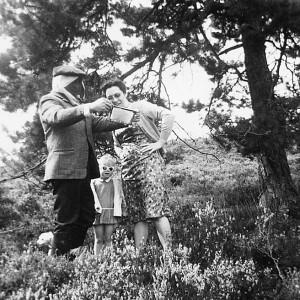5 foto met vrouw en kind