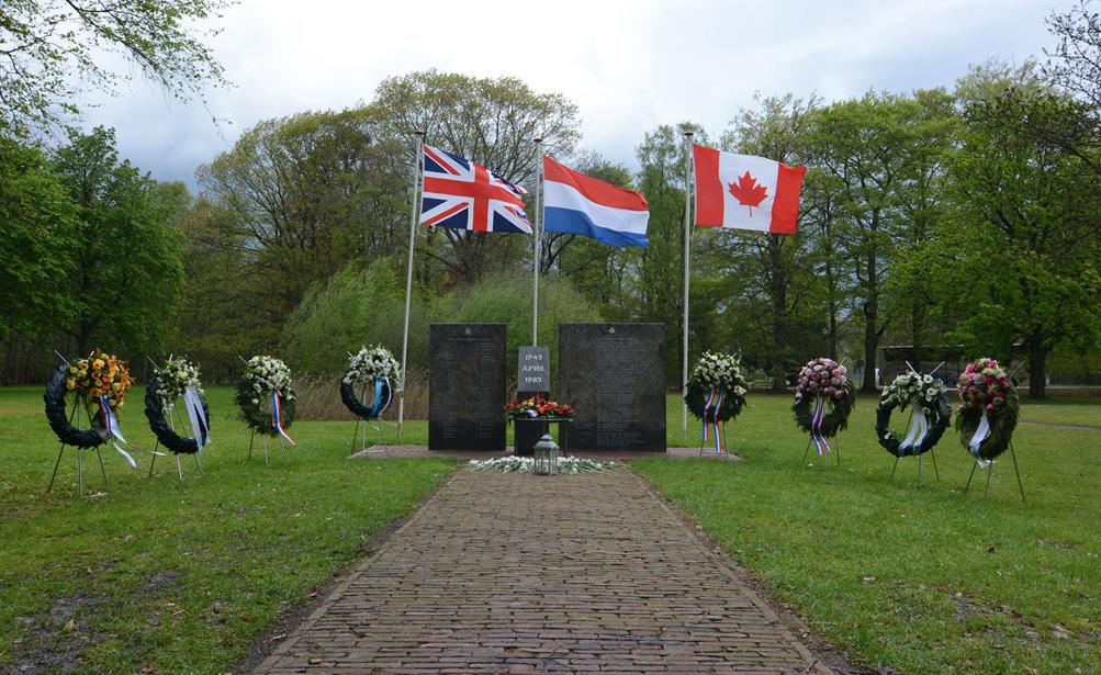 DSC_5416-klein beterGedenkteken in Harskamp, 'Bevrijding op de Veluwe' - Foto: ©Jac. Gazenbeekstichting