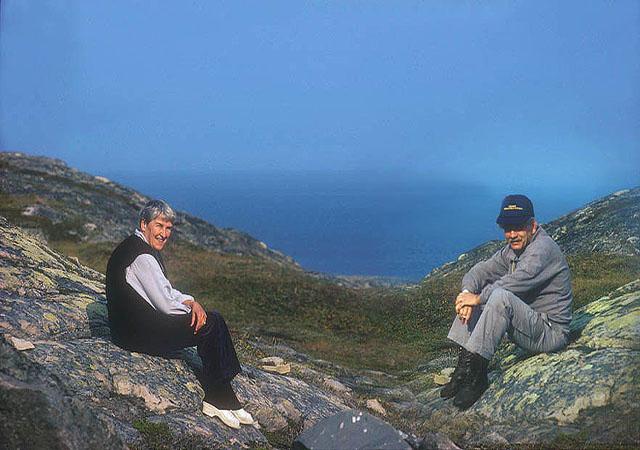 JB011 Tera en ik . Barentszee 1987
