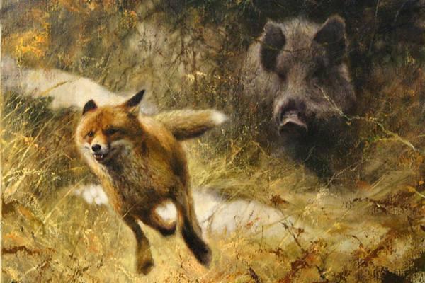 Rien-Poortvliet-vos-en-zwijn