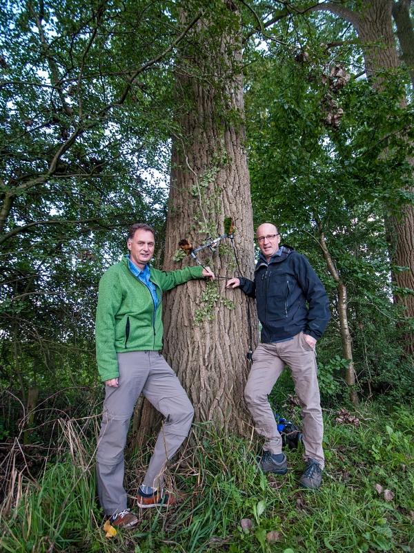 Wim Huijser en Henk Meeuwsen. Foto Salman Ezzammoury imag5399730