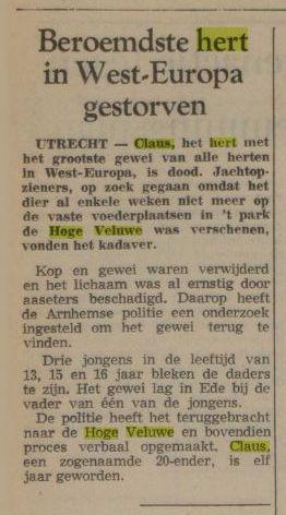 Nederlands dagblad 26 februari 1970