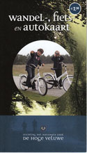 Gelderland-NP-Hoge-Veluwe-Wandel-Fiets-en-Autokaart