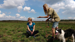 2016-06-16 schaapskudde op de heide (Christien, Mireille, Evert) 56