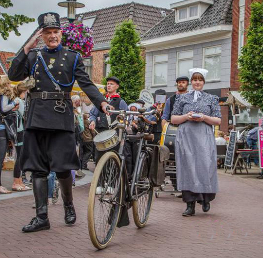 De veldwachter in Barneveld