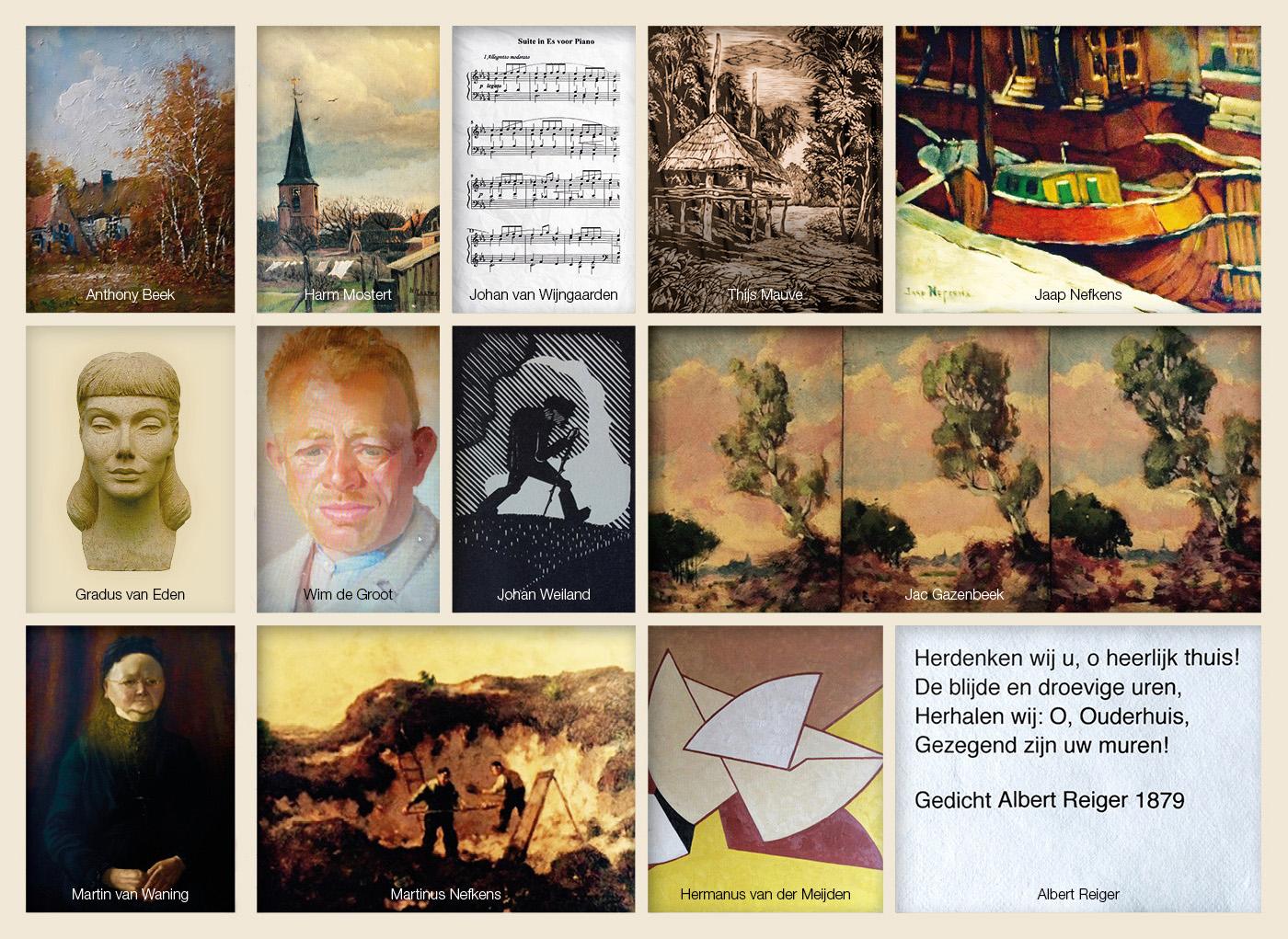 kunstenaars-van-weleer-kaart-voorzijdebron-voorzijde-kopie