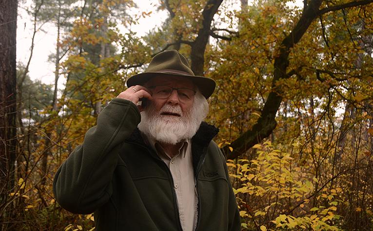 De man met de 'spierwitte baard' - Foto: ©Fransien Fraanje