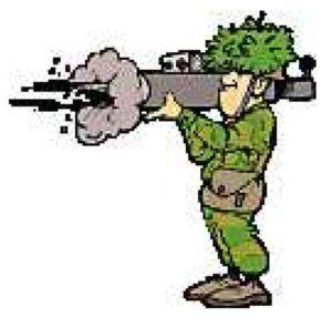 mitrailleur illustratie