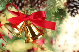 Kerst sfeer klok