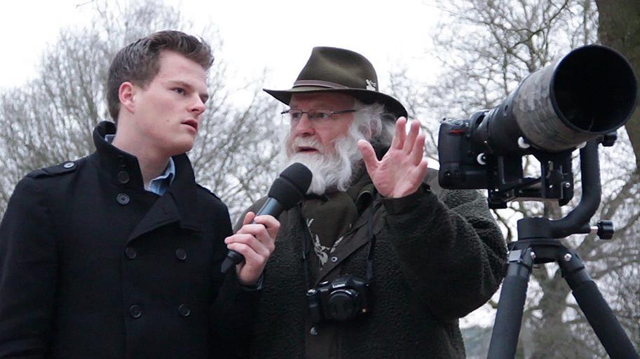 Marco Geijtenbeek in gesprek met Louis Fraanje - Foto: ©Marijke van Soeren