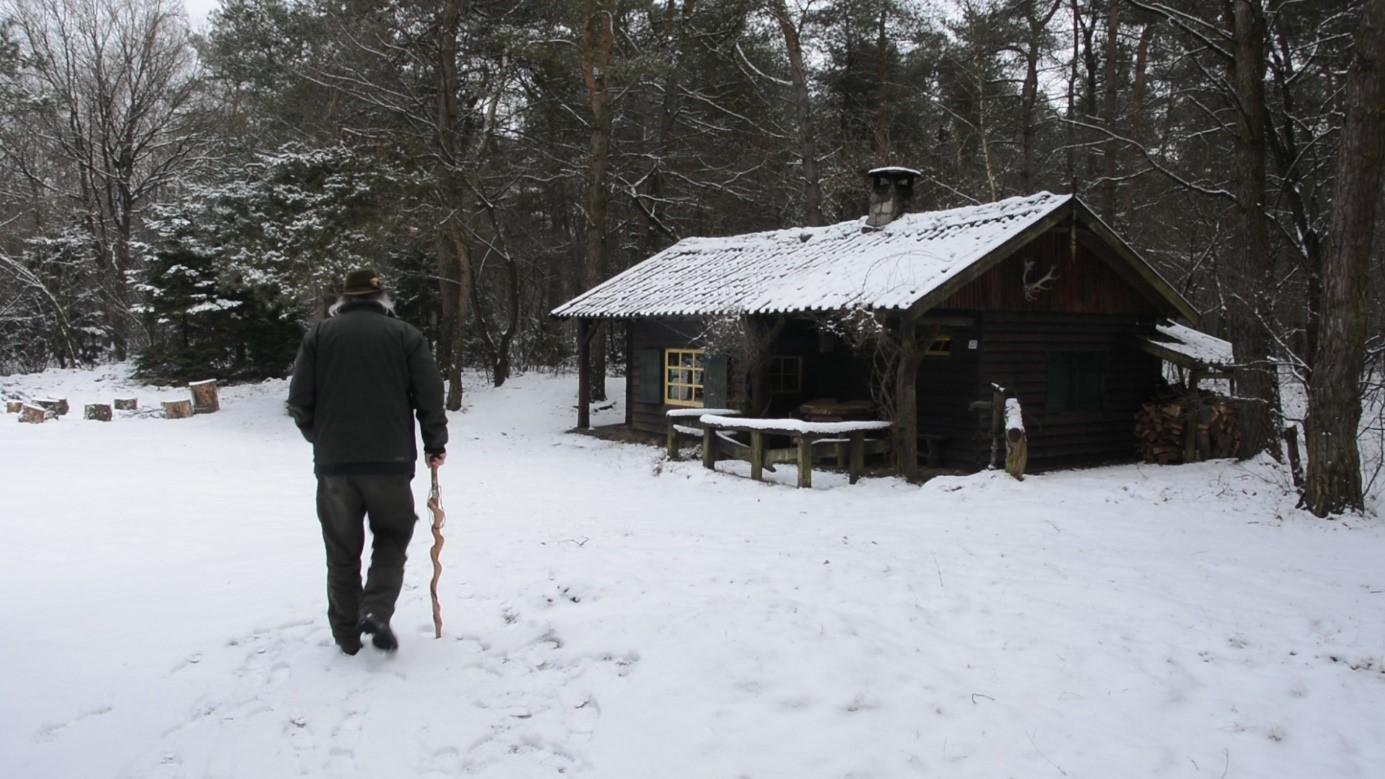 De buitenman op weg naar de jachthut – Foto: ©Fransien Fraanje
