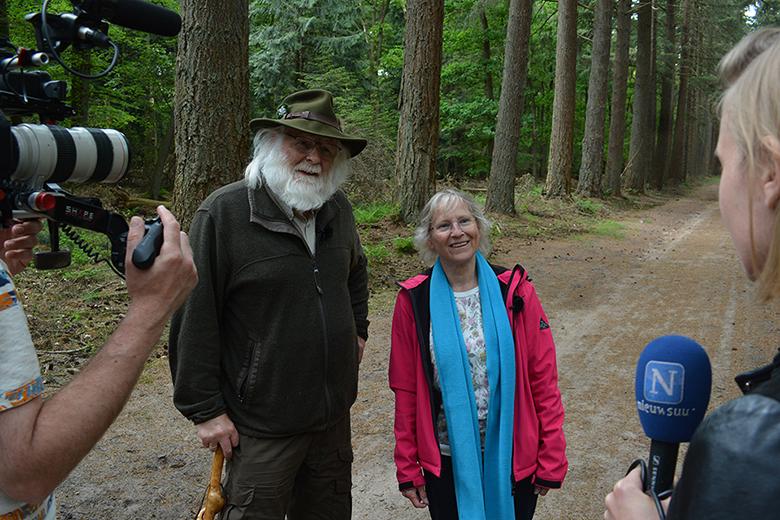 """Louis Fraanje: """"Windmolens niet welkom in de Veluwse bossen"""" - Foto: ©Jac. Gazenbeekstichting"""