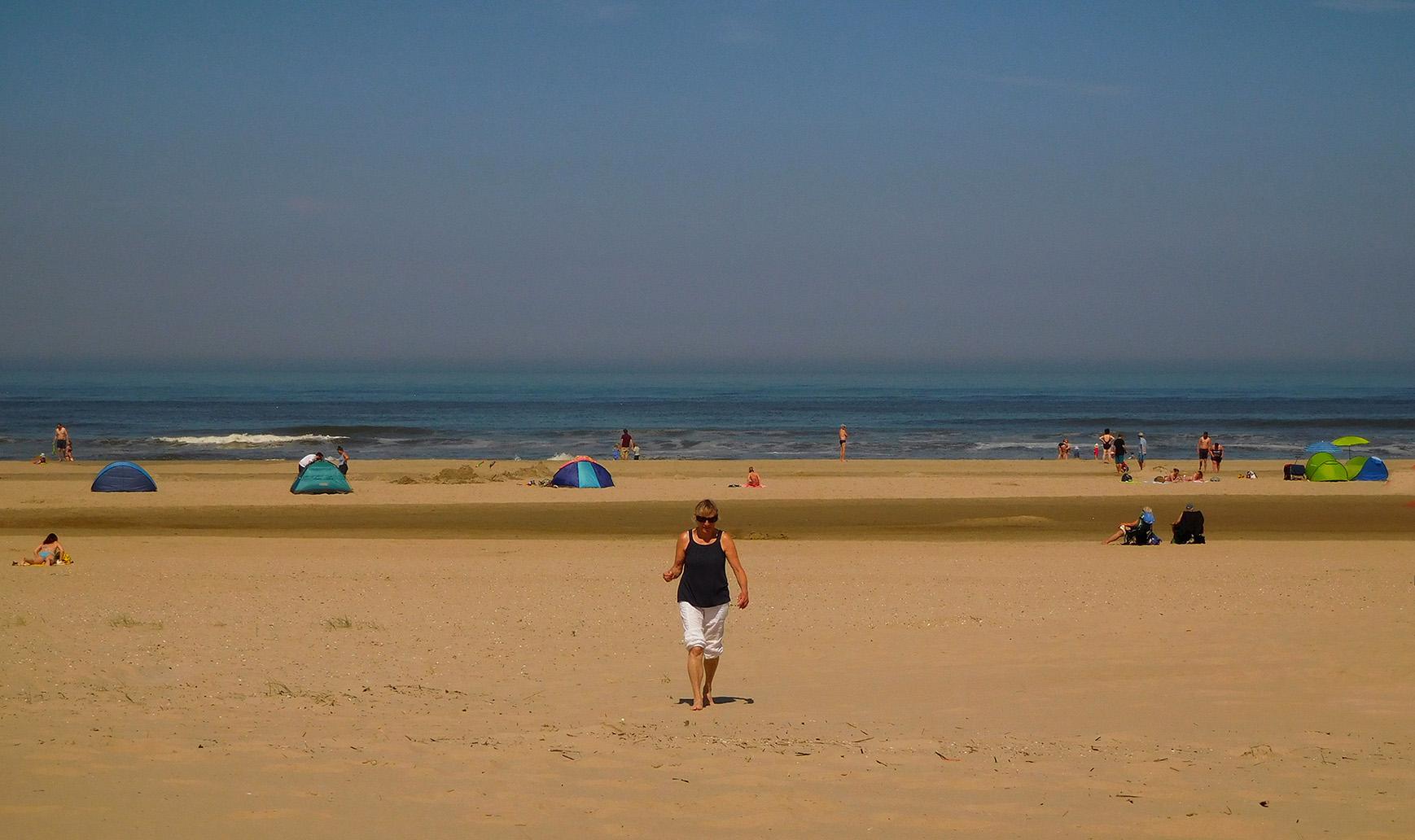 1 foto 1 fransien op strand texel