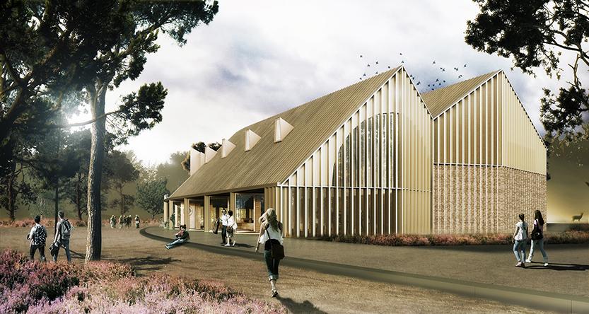 Exterieur nieuwbouw Hoge Veluwe - Foto: ©Hoge Veluwe