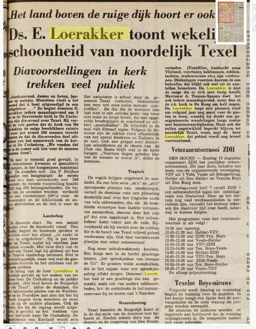5 foto 5 Noordwaarts deel 44 Texelse Courant 1972