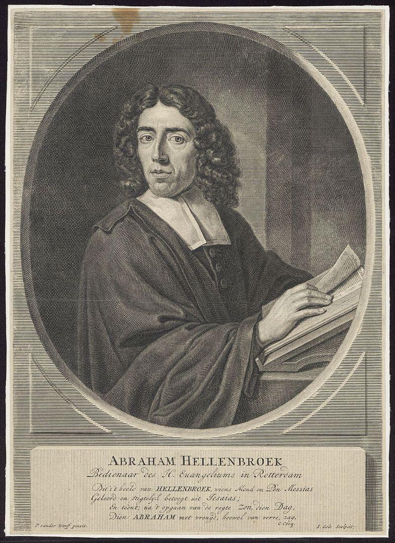 Dominee Abraham Hellenbroek