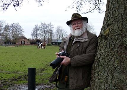 Natuurliefhebber- en fotograaf Louis Fraanje