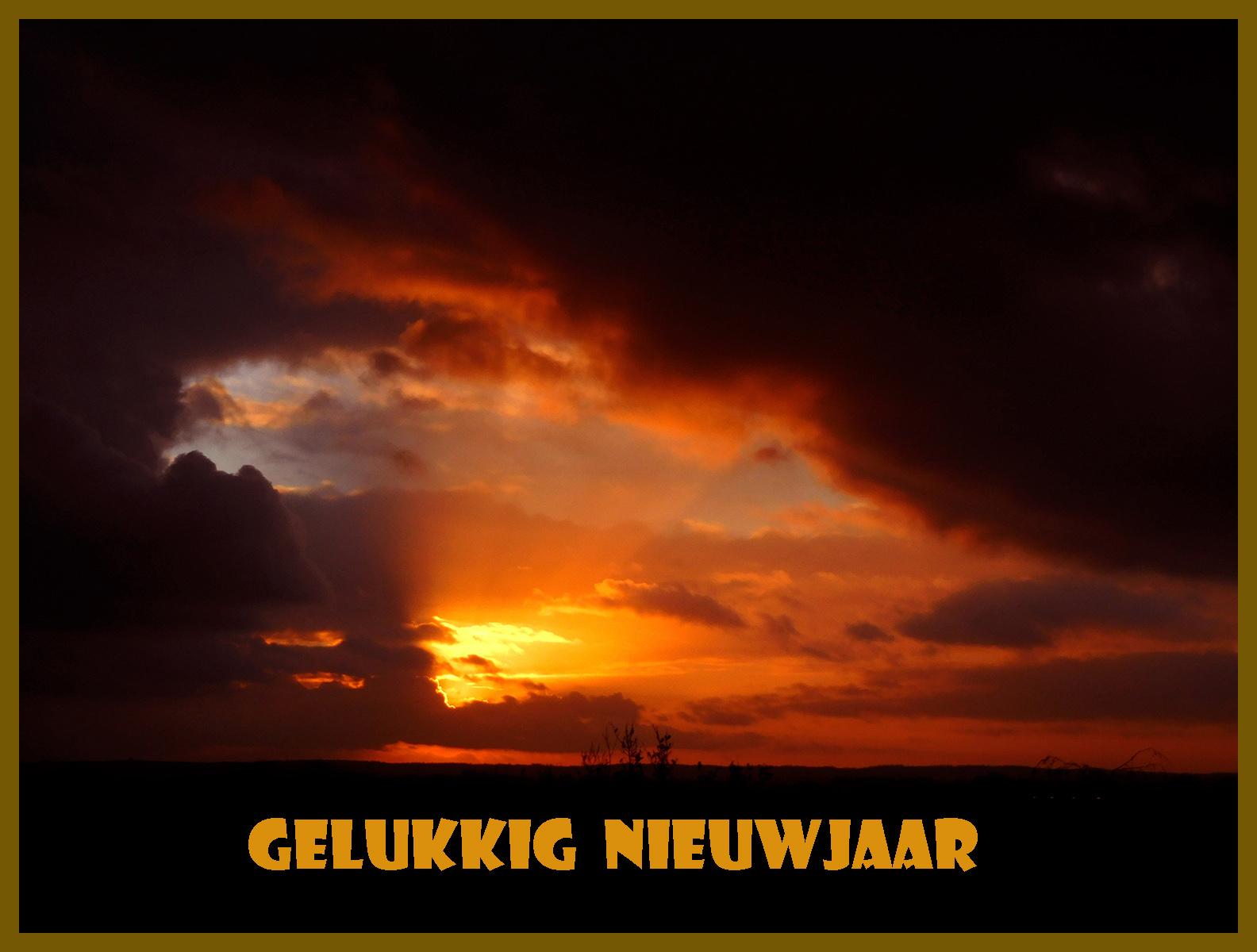 Zonsondergang Veluwe Foto ©Louis Fraanje