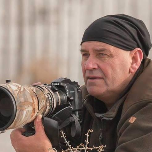 Natuurfotograaf Jan Koops