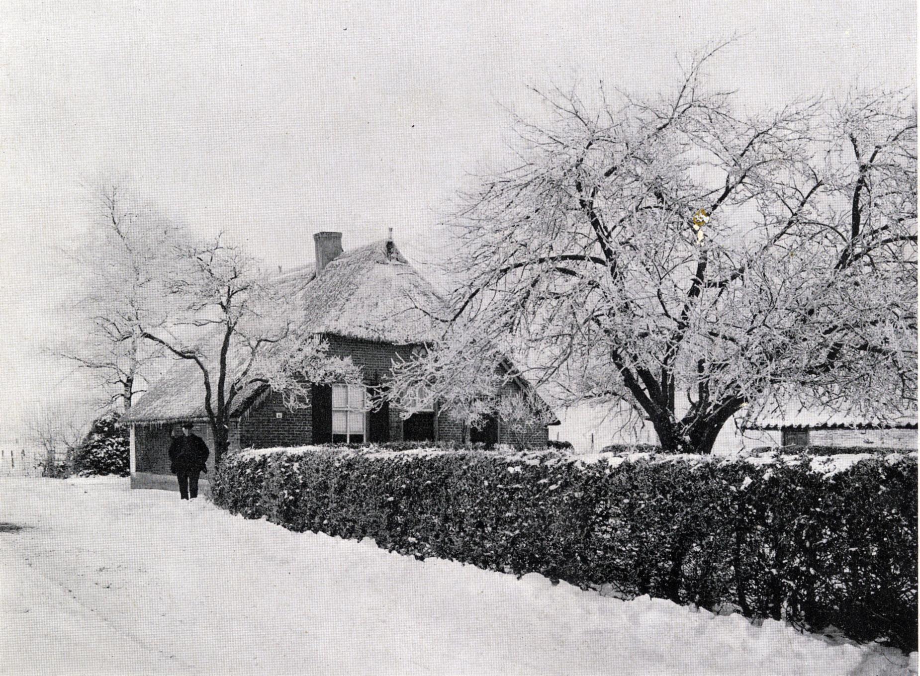 Boerderijtje in winter - Foto: ©Jac. Gazenbeek