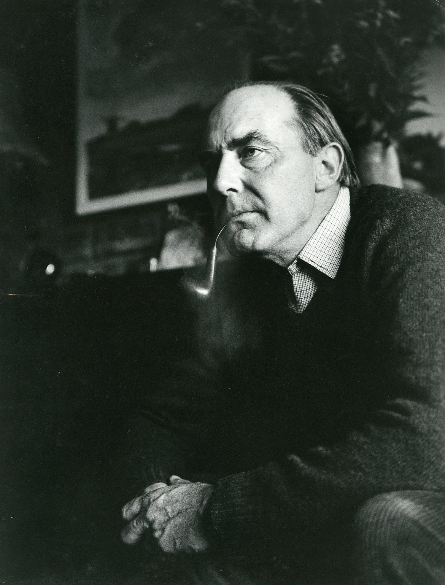 Arnold Foeke van der Wal(1920-1987) - Archieffoto ©Herman Stegeman