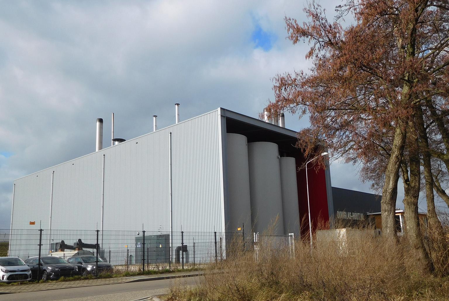 """Bio-energiecentrale """"De Vallei"""" in Ede - Foto: ©Louis Fraanje"""