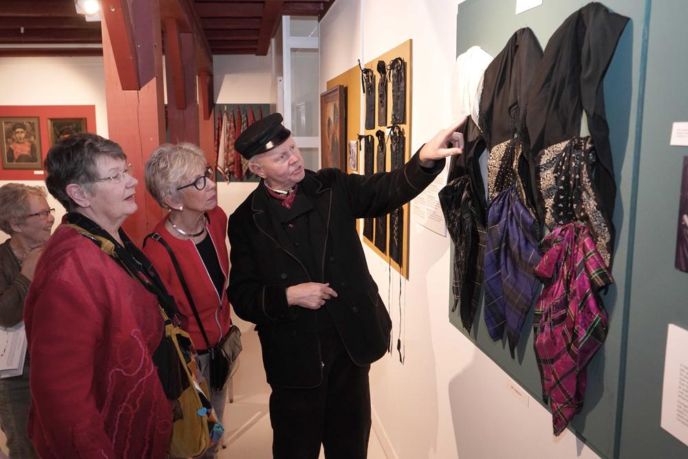 Een rondleiding met Rein Lotterman - Foto: ©Stadsmuseum Harderwijk