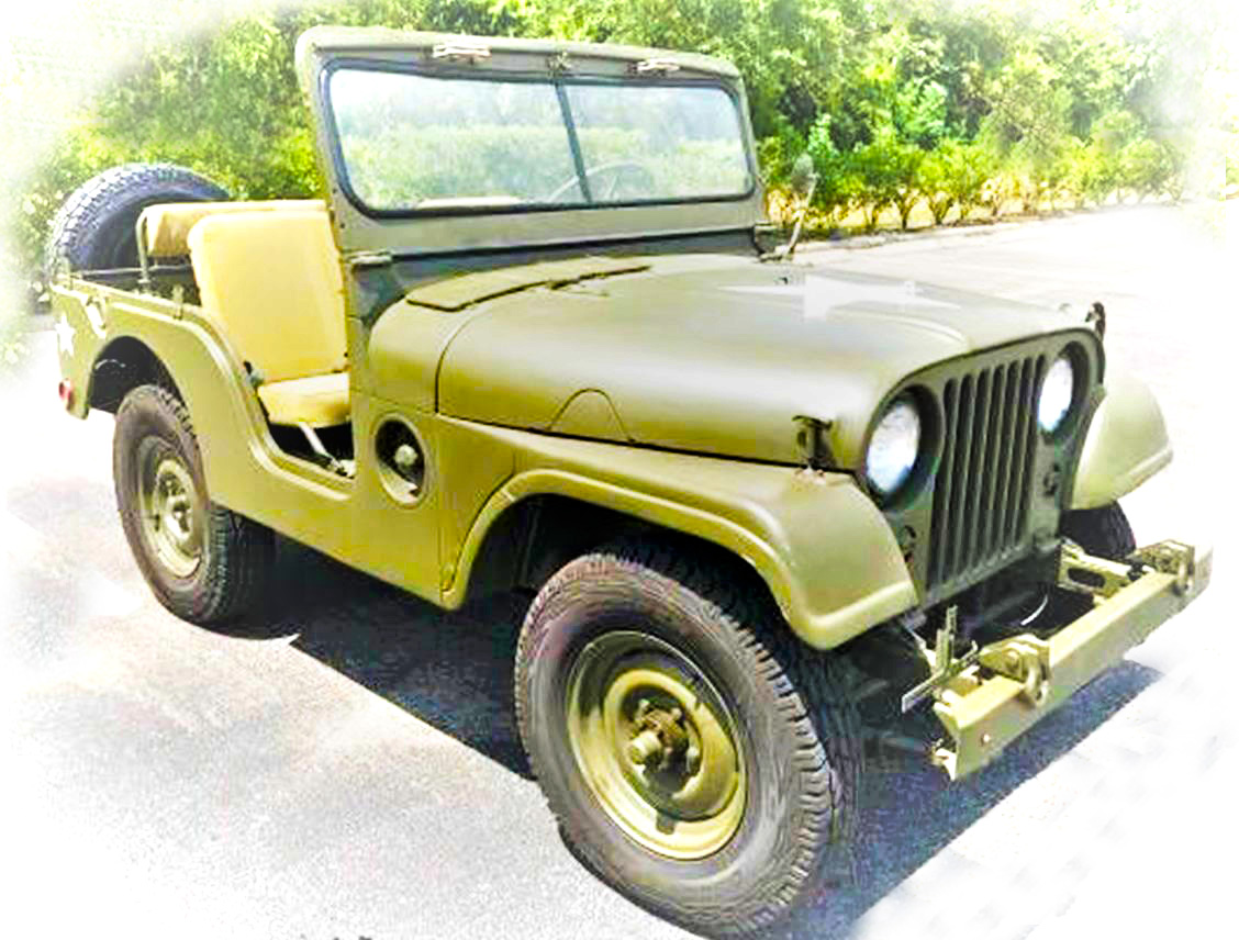 Originele Willys M38A1 jeep