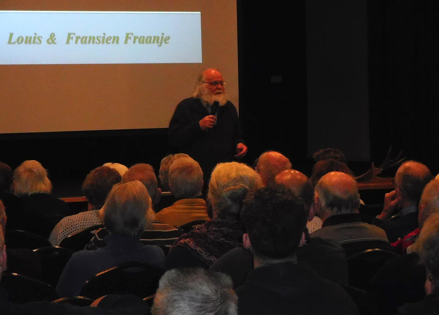 Louis Fraanje is verhalenverteller in hart en nieren - Foto:© Fransien Fraanje