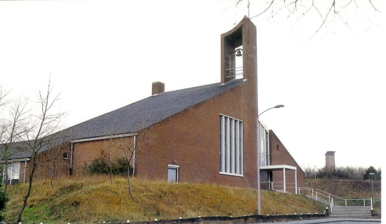 Ichtuskerk aan de Nachtegaallaan in Katwijk - Foto: Ichtuskerk Katwijk