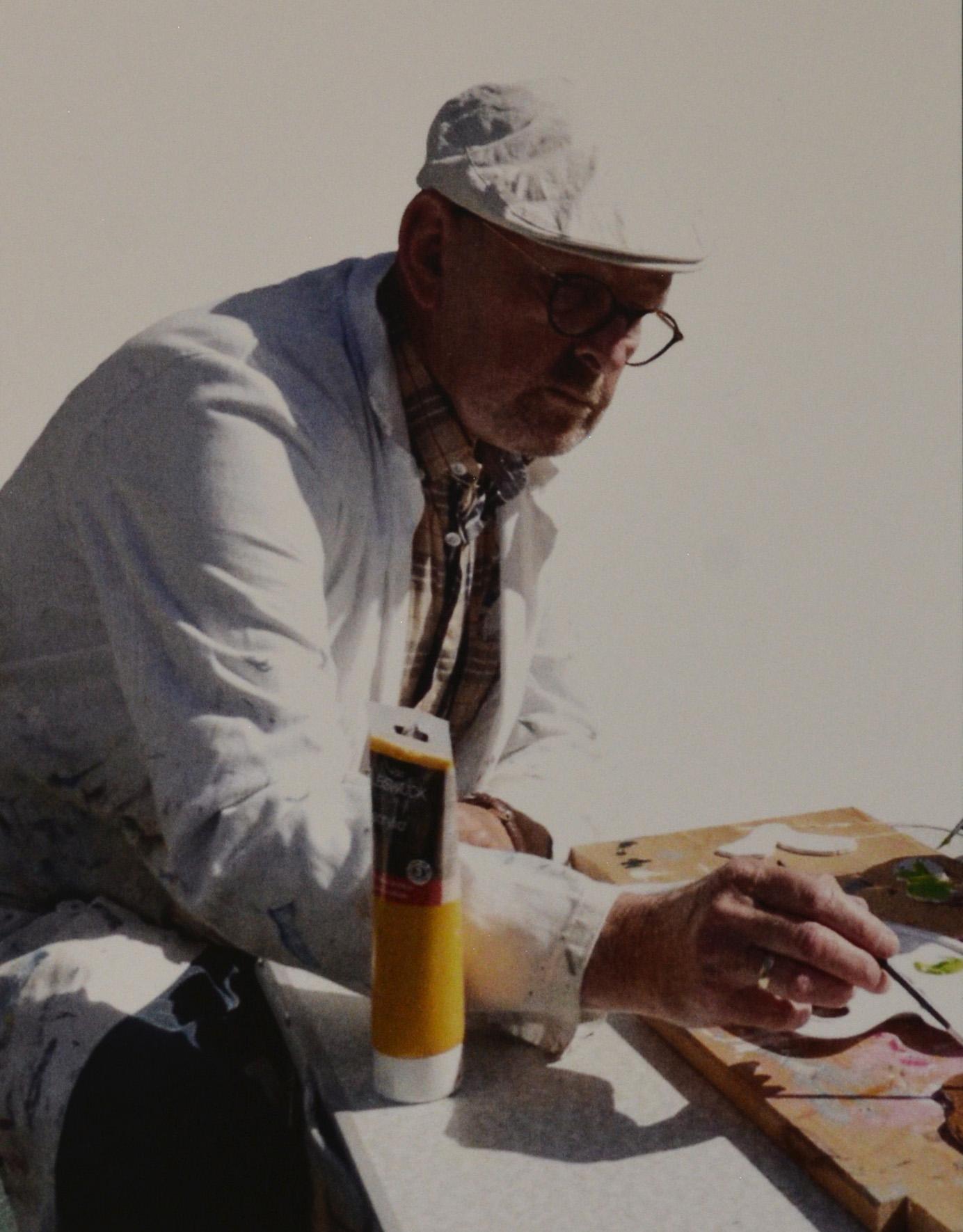 Kees Fraanje een begaafd schilder en onderwijzer - Foto: ©Familie Fraanje