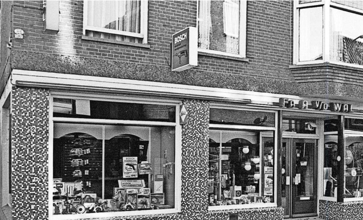 Winkelpand A v/d Wal en links achter was de smederij - Foto: Jan Pit/BDU