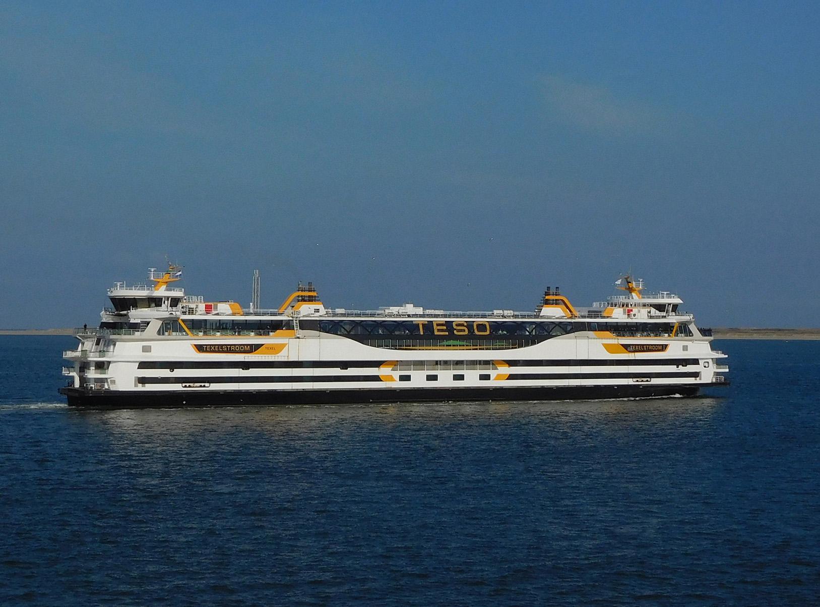 """Met de veerboot """"Texelstroom"""" naar het mooie eiland Texel – Foto: ©Fransien Fraanje"""