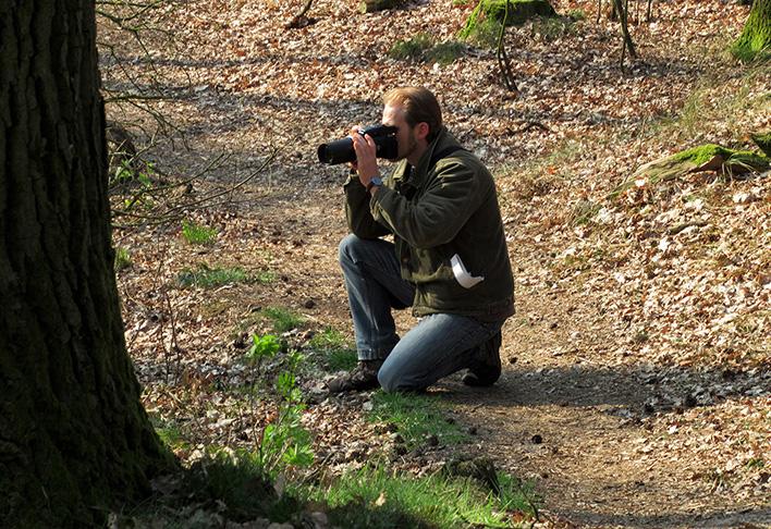 Journalist en fotograaf Kees van Reenen - Foto: ©Louis Fraanje