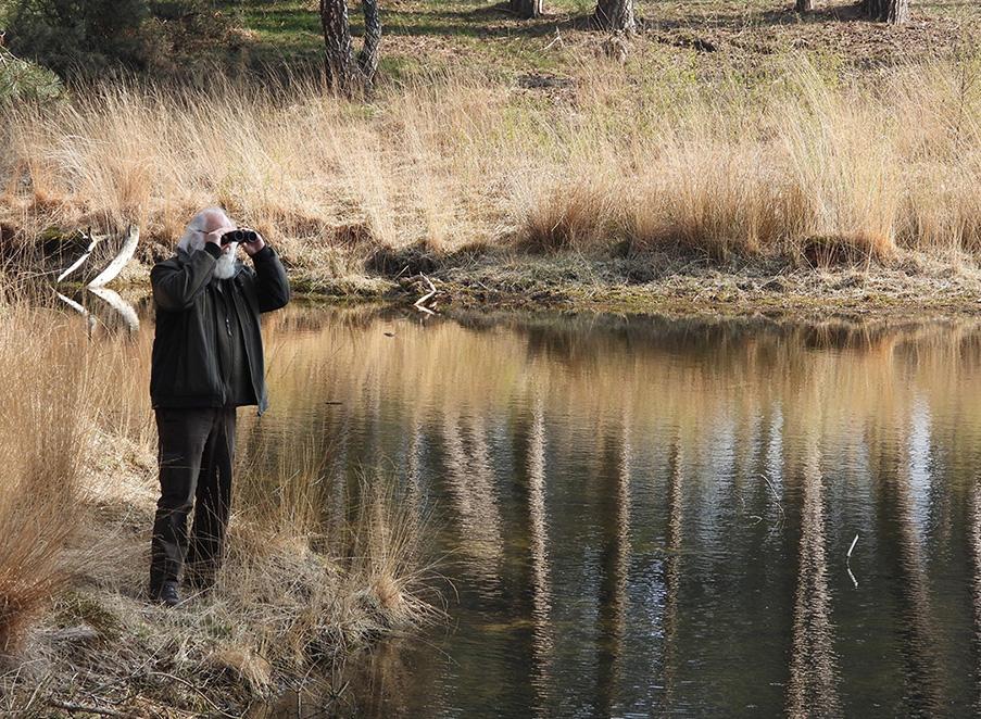 Natuurkenner Louis Fraanje - Foto: ©Kees van Reenen