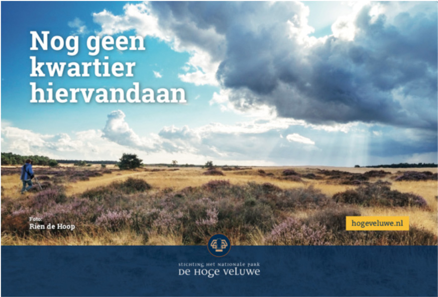 Het landschap op de Hoge Veluwe - Foto: ©Rien de Hoop