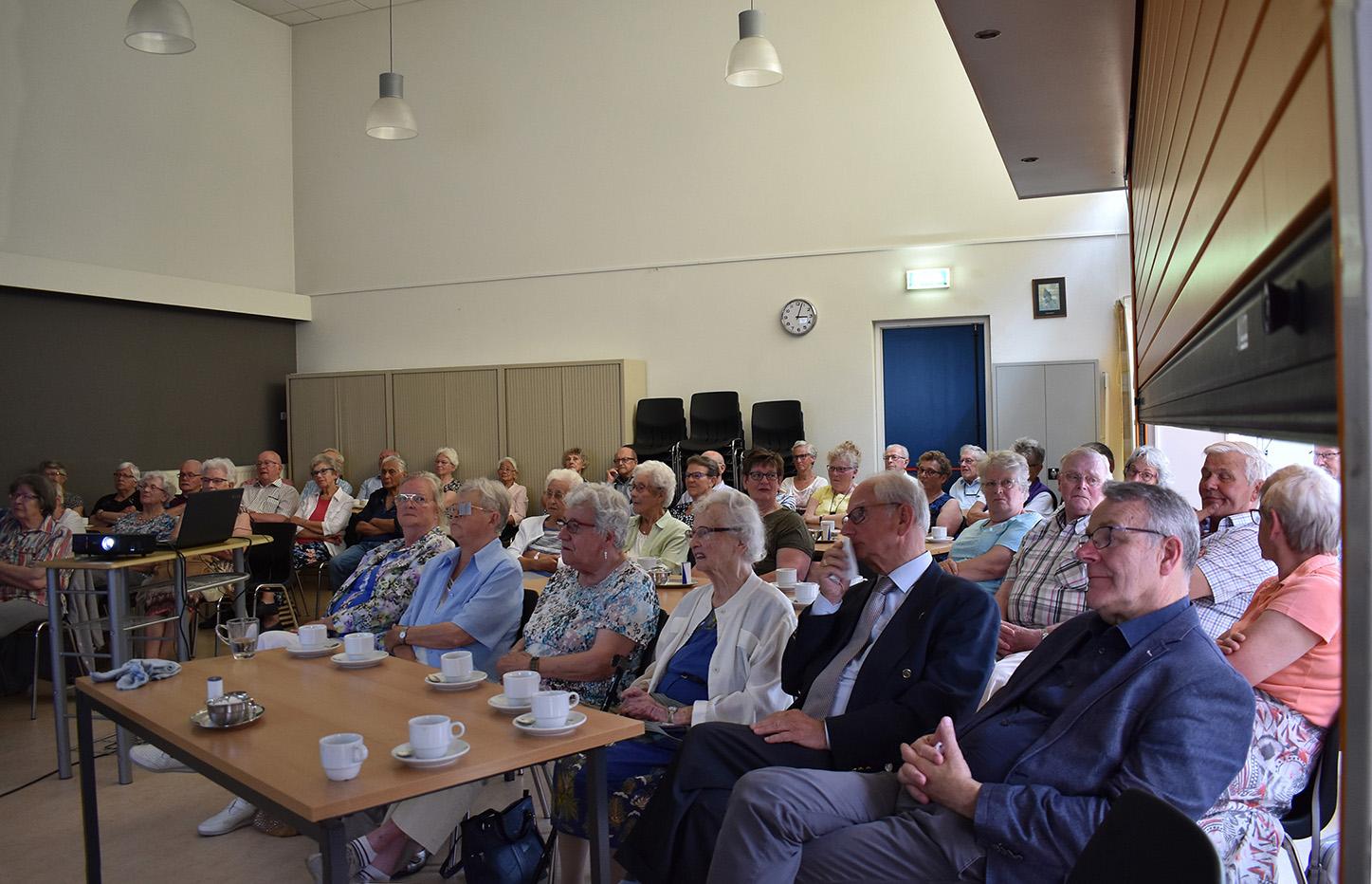 Men kan terugzien op een geslaagde seniorenmiddag in Ede - Foto: ©Fransien Fraanje