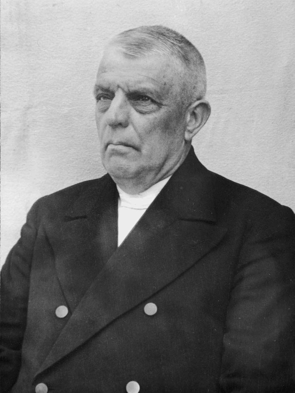 Dominee Jozias Fraanje(1878-1949) - Foto: Archief Fraanje